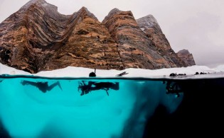 Polar Snorkeling c Mick Valos