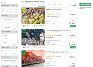 Trip Search Results