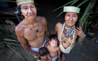 The Huaorani are the wardens of the rainforest and their home is under threat