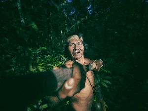 This is Bai a Huaorani man