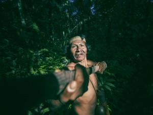 This is Bai a Huaorani man