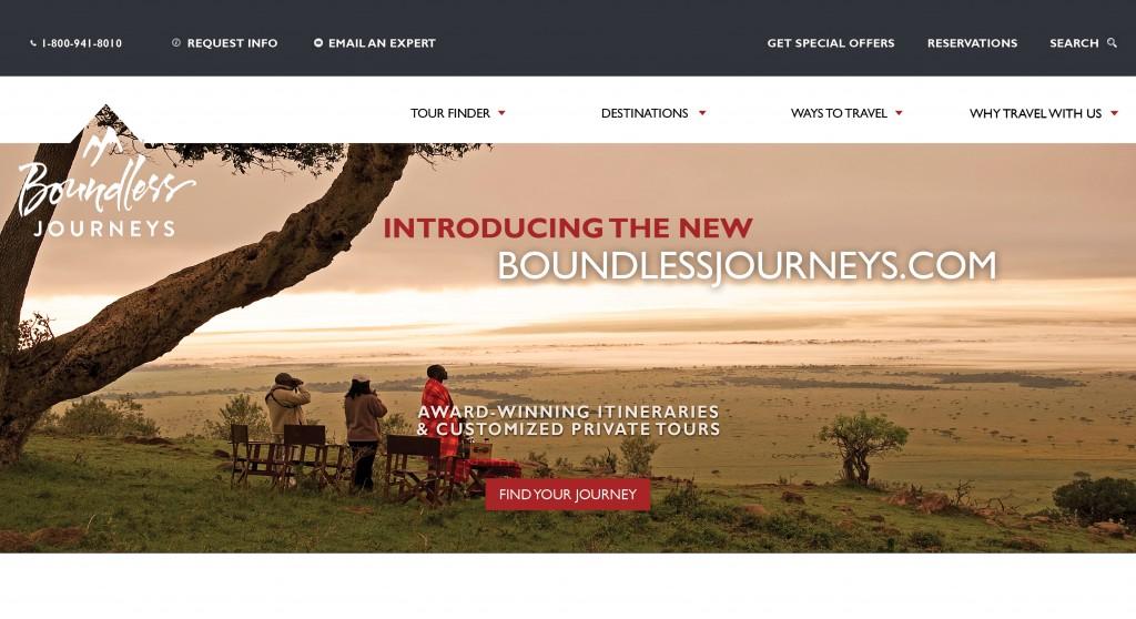 Award-Winning Tour Operator Boundless Journeys Launches ...