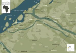 Wilderness Safaris Map_Ruckomechi and Little Ruckomechi