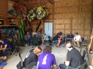 Guide training Pandion conducted for River Drifters (rafting company) – Maupin, OR