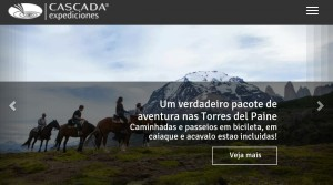 screenshot cascada.travel:brasil