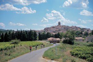 Biking through southern Europe