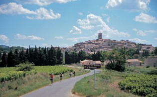 Biking through southern Europe