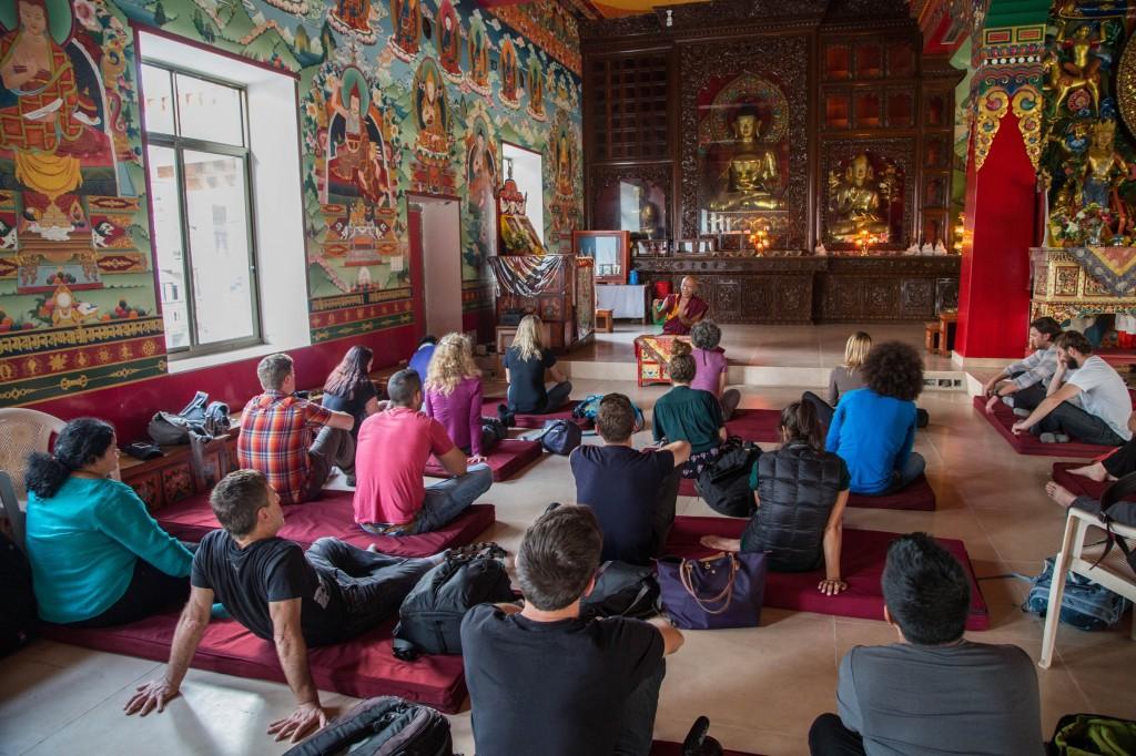 AdventureTravel Rebound Nepal participants © ATTA / Eric Larsen