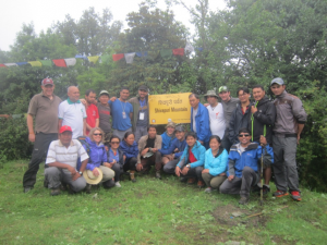 Course participants and educators during 2-day field session. Photo by: Shahadev Shrestha