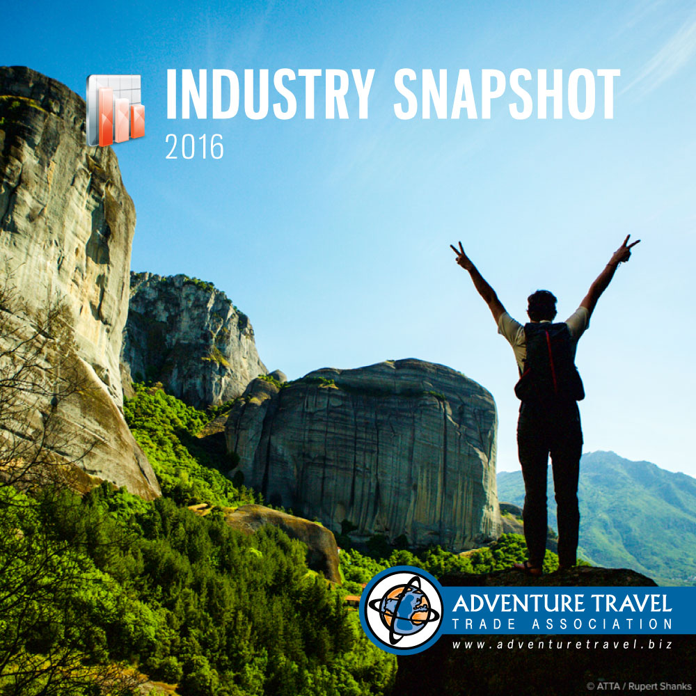 Adventure Travel: 2016 Industry Snapshot Provides Benchmarks For Adventure