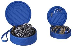 EC Pack-It Original Quilted Circlet Set blue open S17LR
