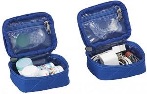 EC Pack-It Original Quilted Mini Cube Set blue merched S17LR