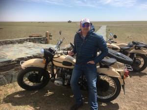 Jarrod Hobson in Mongolia
