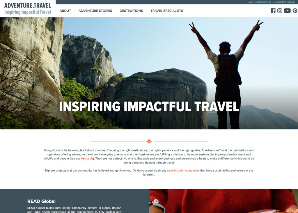 Adventure.Travel - Inspiring Impactful Travel