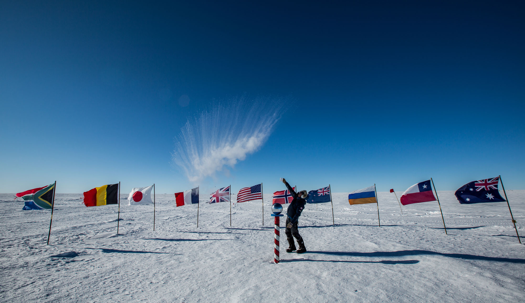 Ceremonial South Pole by Eric Larsen