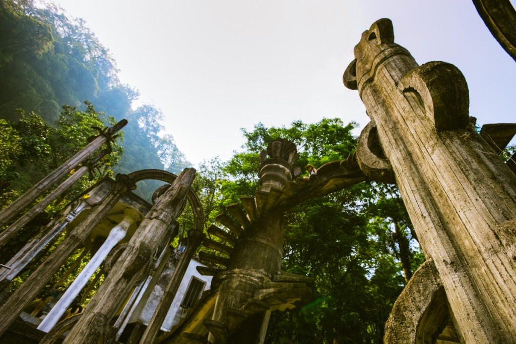 Discovered a surrealist wonder in the rainforest of Xilitla.