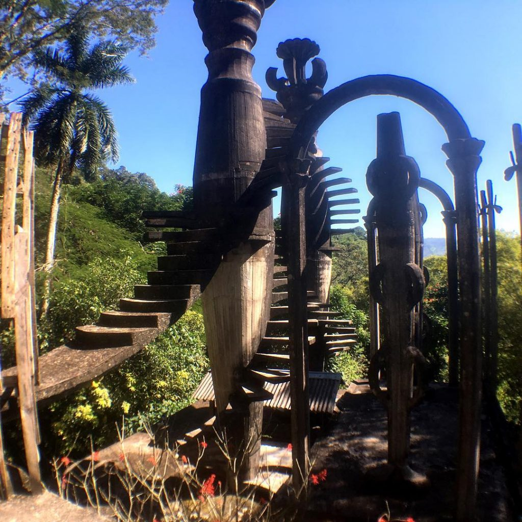 This may be one of my favorite places. Edward James Surrealist Gardens. An intrepretstion of his dreams in the wild nature of Xilitla.