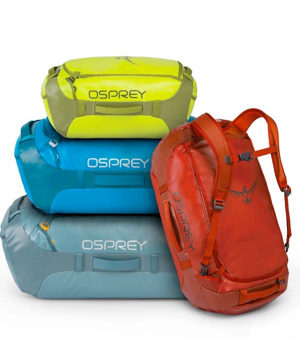 aae49a6dd4ac Osprey Expands Travel Assortment with Comprehensive Duffel ...