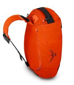 Trillium shown with messenger bag carry option