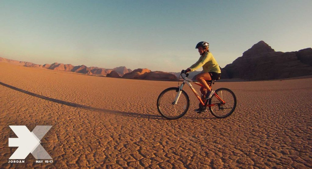 A hiking, biking, and horseback riding trip by Terhaal Adventures crosses the regions of Dana, Petra, and Wadi Rum along sections of the Jordan Trail. This ancient trading route, which is more than 650 km long, is now a modern-day long distance trail running from Umm Qais in the north to Aqaba at the Red Sea in the south.