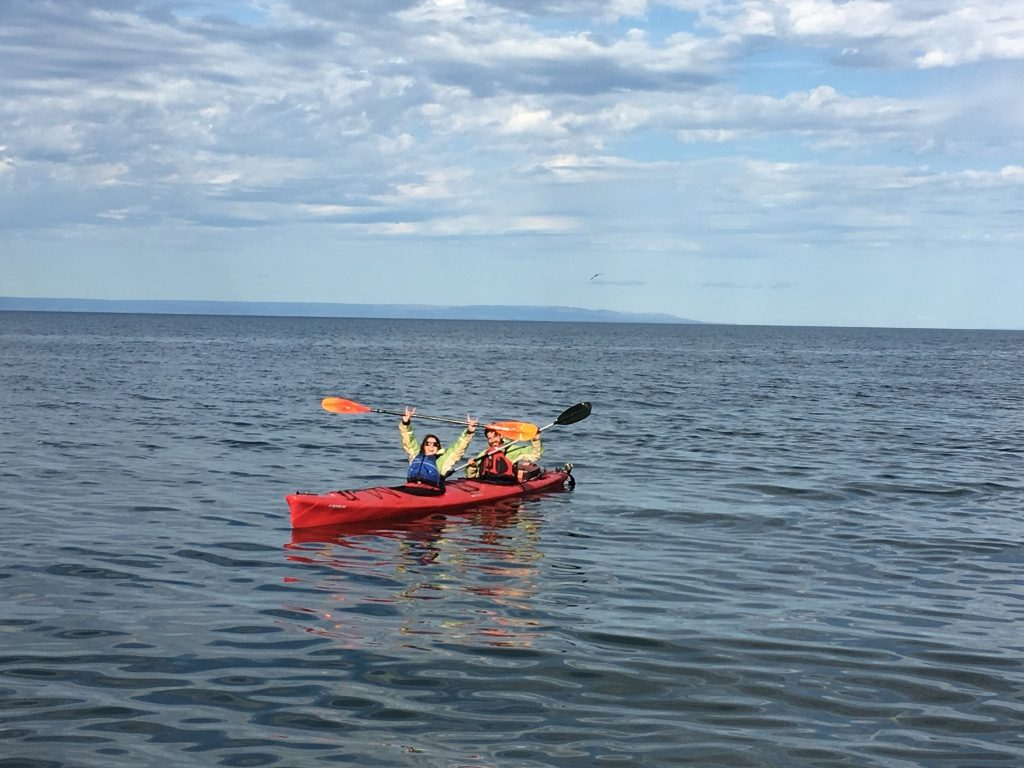 During the sea kayaking tour, participants may see minke and killer whales, sea lions, Magellanic penguins, Antarctic giant petrel, imperial shag, and more.
