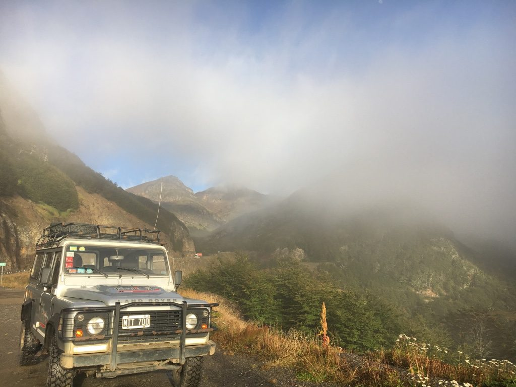 Participants will cover a lot of territory with a Land Rover expedition.