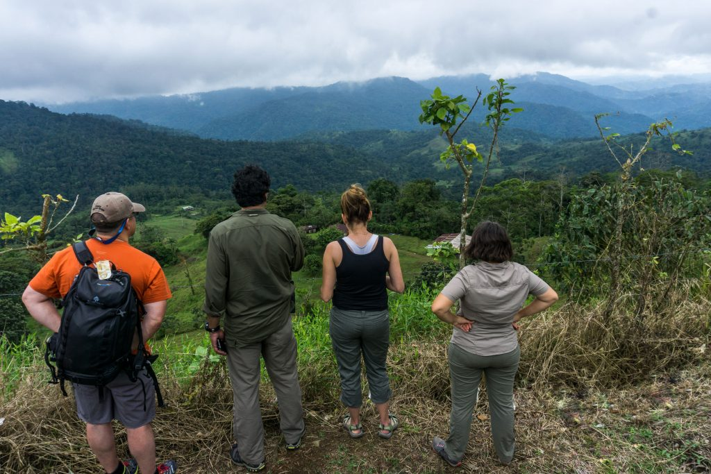 Looking at the future of ATTA forest in Costa Rica.