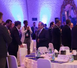 The Prime Minister of Jordan, H.E. Dr. Hani Al-Mulki, welcomed to delegates at AdventureNEXT Near East.