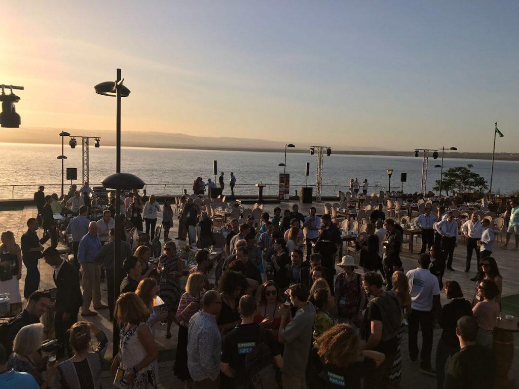 Opening dinner at the Kempinski Ishtar Dead Sea