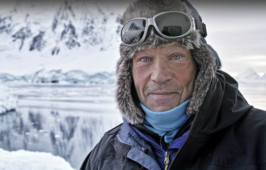 Robert Swan is the first person to walk to both the North and South Poles.