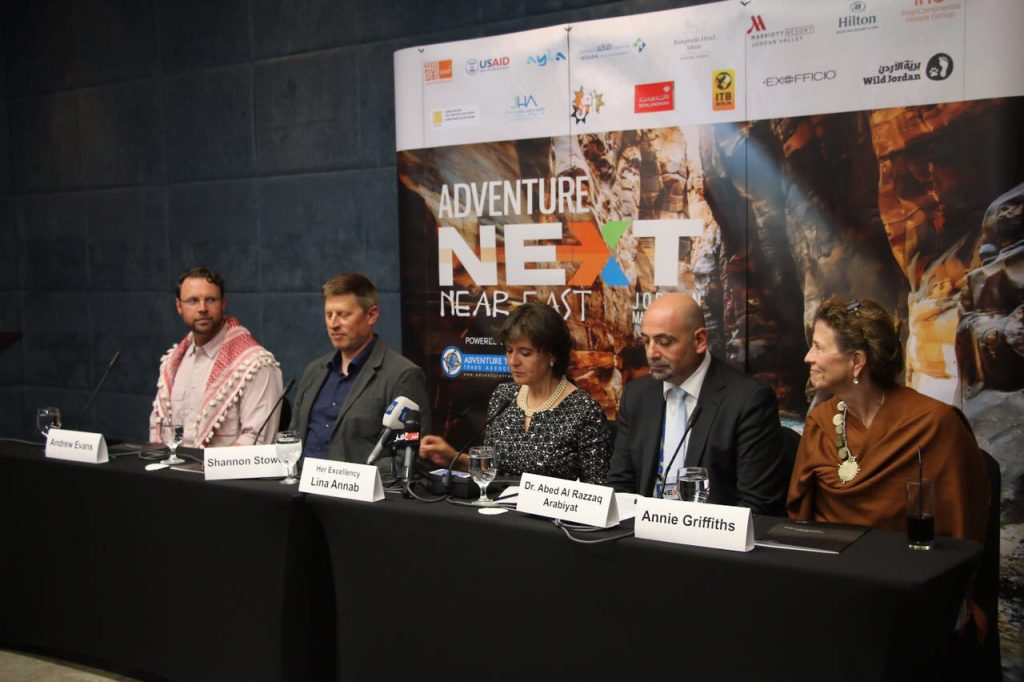 The forward-thinking panel topics have inspired many AdventureNEXT Near East delegates to begin making plans to attend next year's event. © Visit Jordan