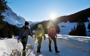 While skiing and other winter sports are still king in Switzerland, there's plenty of action beyond the slopes. (Credit: Switzerland Tourism)