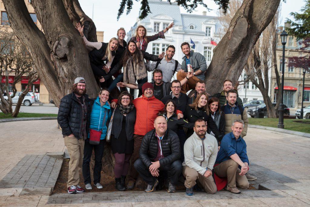 AdventureWeek Tierra del Fuego Participants © ATTA / Hassen Salum