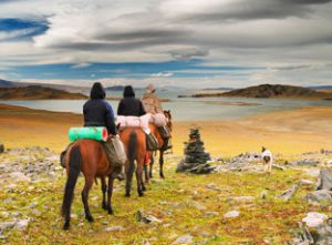 Mongolia's Icon, The Horse, Meets up with Wild Women