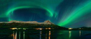 HHM38T Aurora Borealis, Mt Ejsa, Reykjavik, Iceland